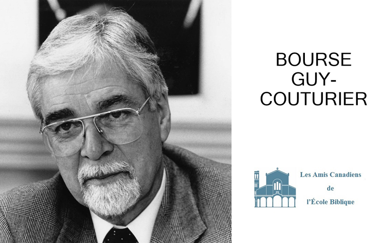 Bourse Guy-Couturier