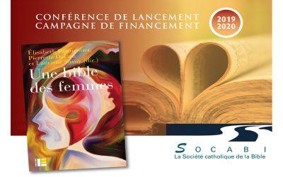 Conférence de Pierrette Daviau – Campagne de financement 2019-2020